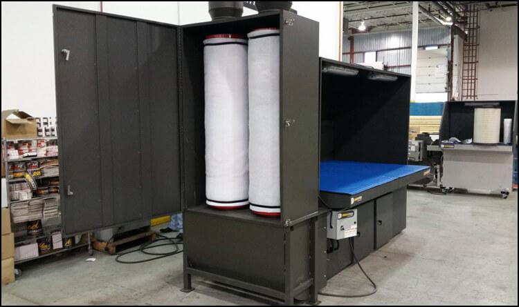 Carbon Filter Downdraft Table 1024x576 Diversitech Downdraft