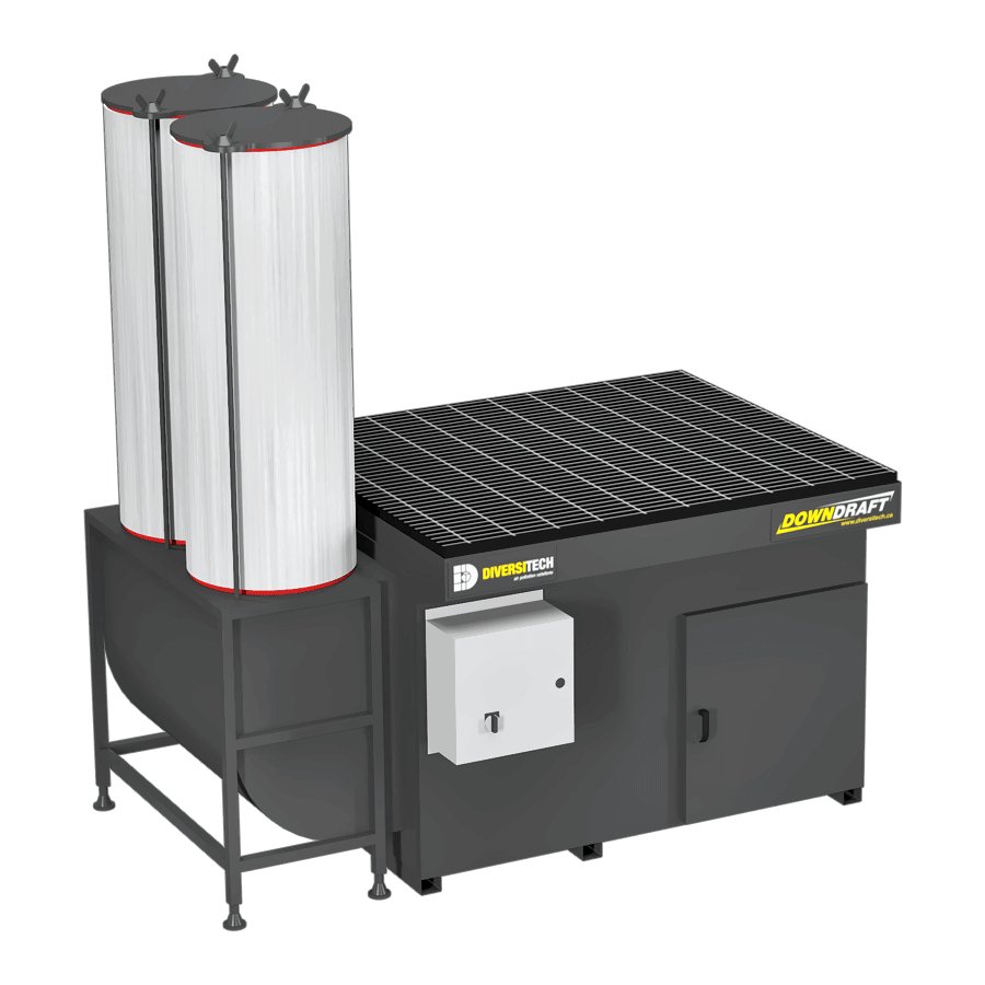 DD-3X4 Downdraft Table for Volatile Organic Compounds (VOCs)