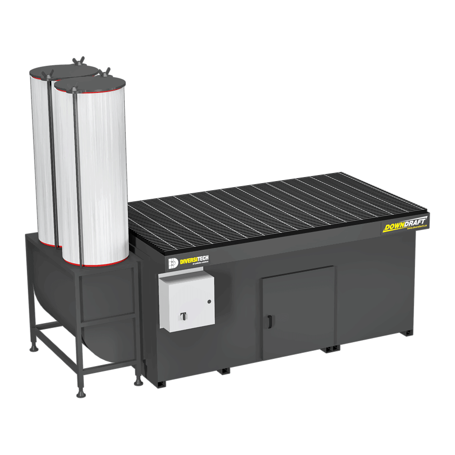 DD-3X6 Downdraft Table for Volatile Organic Compounds (VOCs)