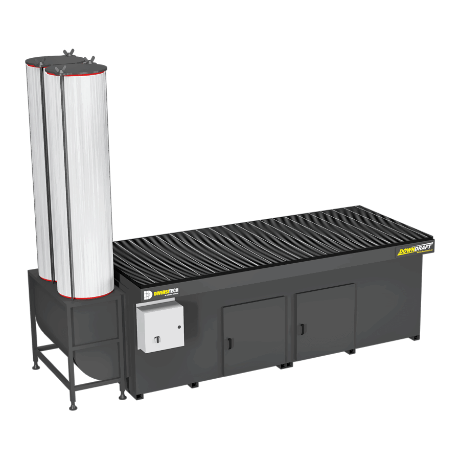DD-3X8 Downdraft Table for Volatile Organic Compounds (VOCs)