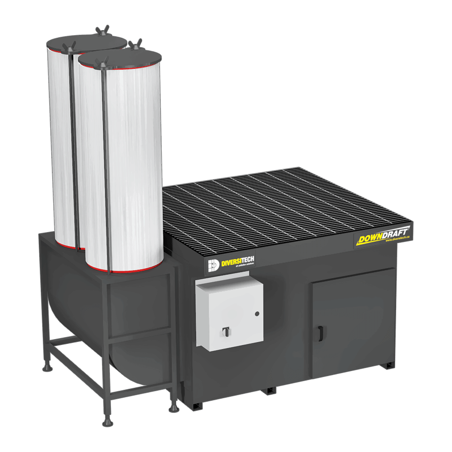 DD-4X4 Downdraft Table for Volatile Organic Compounds (VOCs)