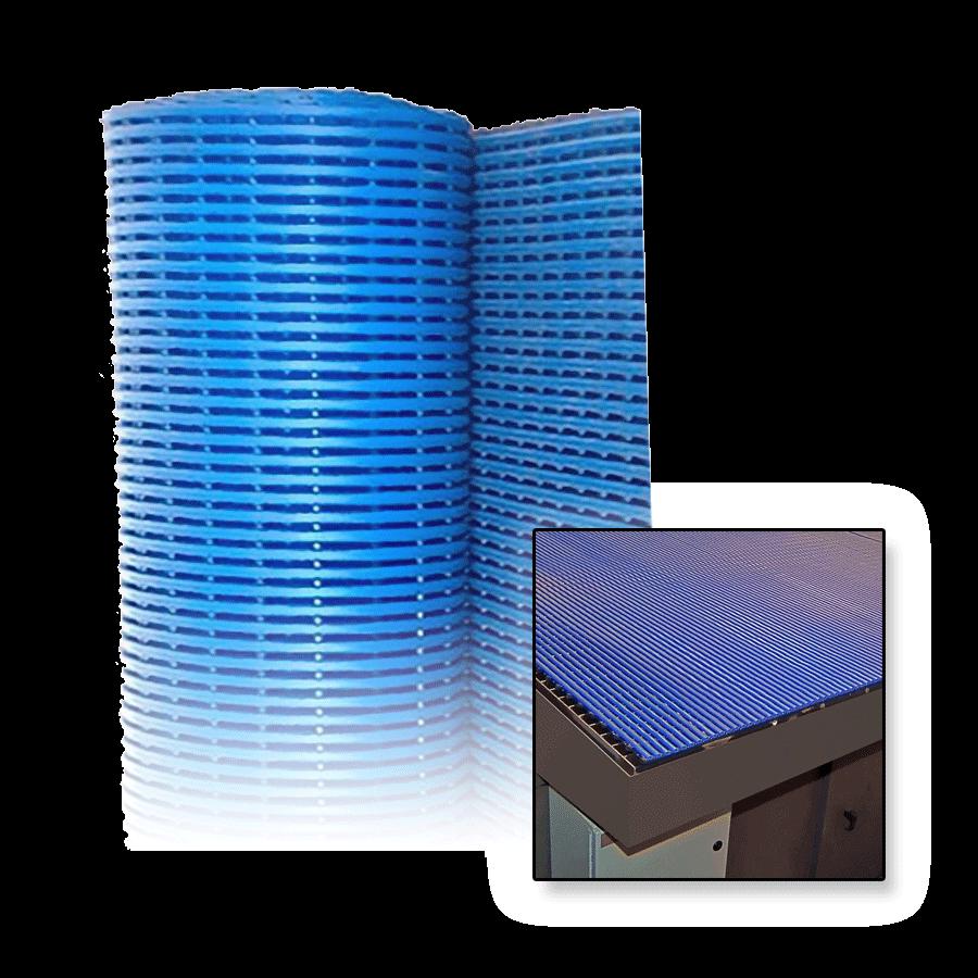 product mat downdraft blue diversitech bluepvccushionmatting matting cushion protective grid pvc