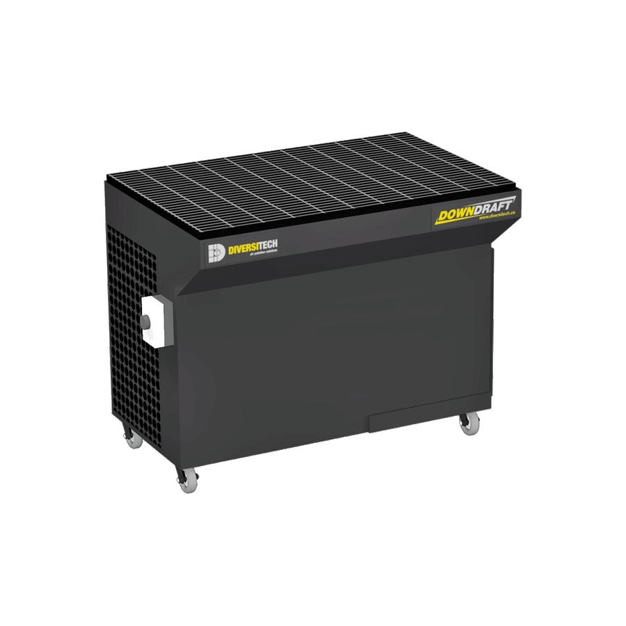 Portable 2X4 Downdraft Table 1500 CFM | Diversitech