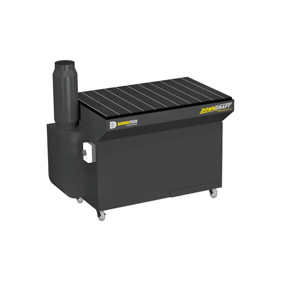 Portable Downdraft Bench : Portable downdraft table cfm diversitech