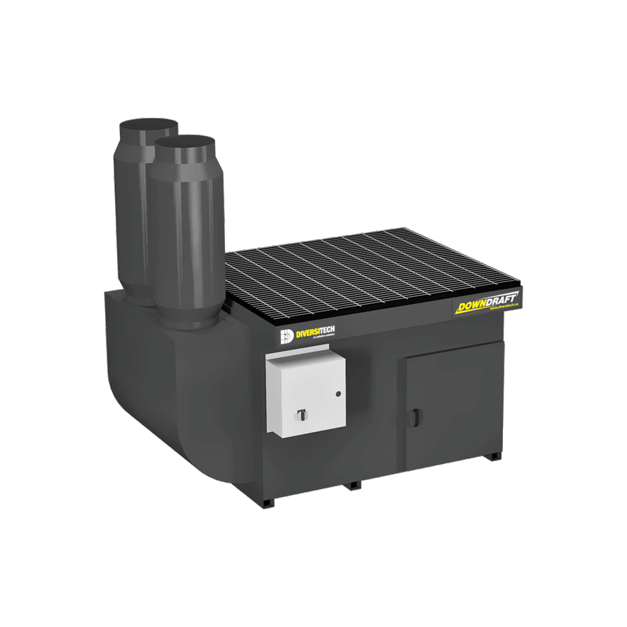 DD-3X4 Base Downdraft Table, Portable (Three Phase)