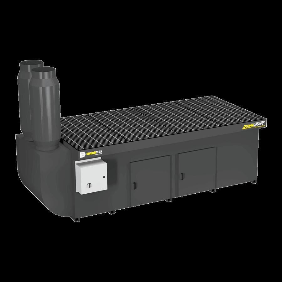 Portable Downdraft Bench : Dd diversitech downdraft