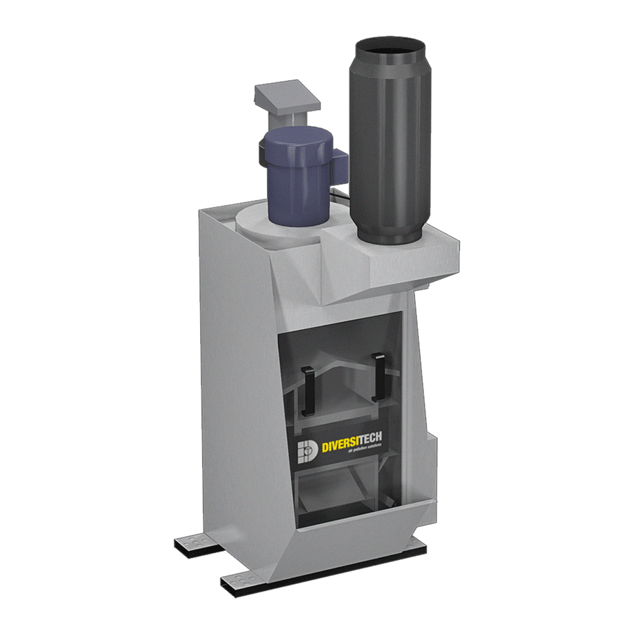 WX-1200 Wet Dust Collector for Combustible Dust (Three Phase)