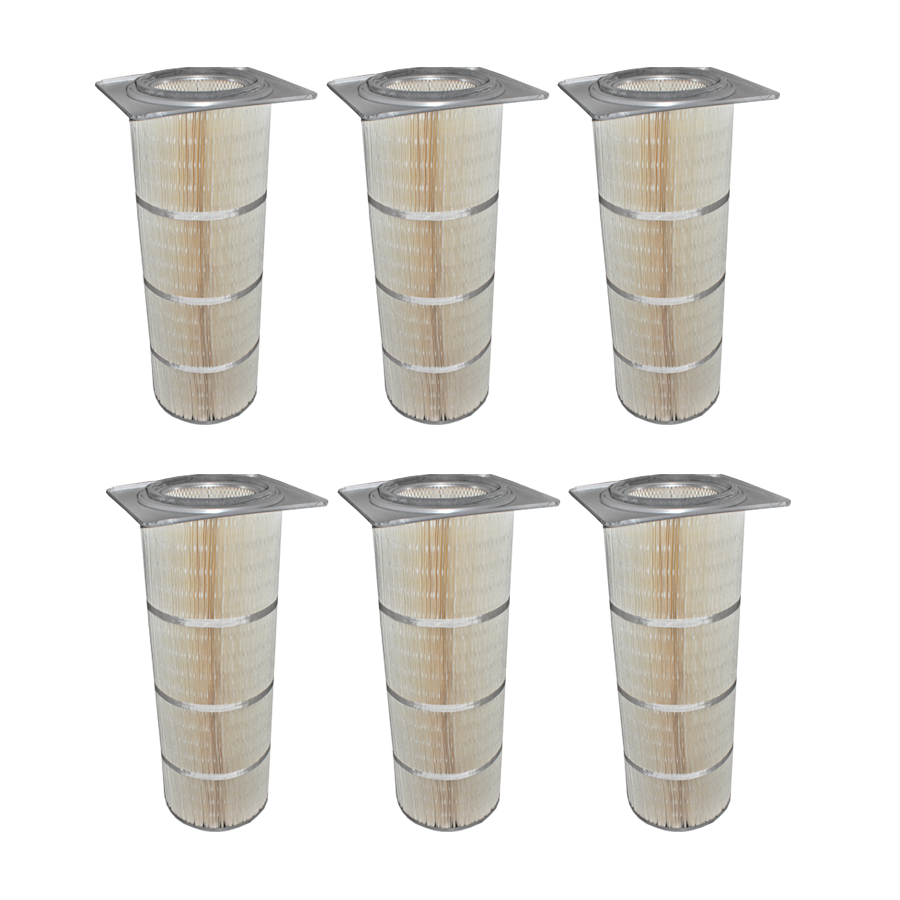 "36"" Nanotech XV wide-pleat cartridge filter 6-pack"